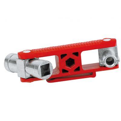 KNIPEX Universele sleutel voor alle standaard schakelkasten en afsluitsystemen