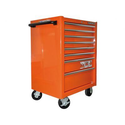 Bahco 169 delige gevulde Gereedschapswagen Oranje
