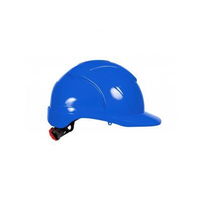 4Tecx veiligheidshelm draaiknop blauw