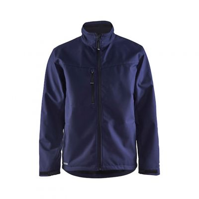 Blåkläder Softshell Jack Marine Blauw