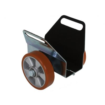 Delma Platenwagen PU-wiel