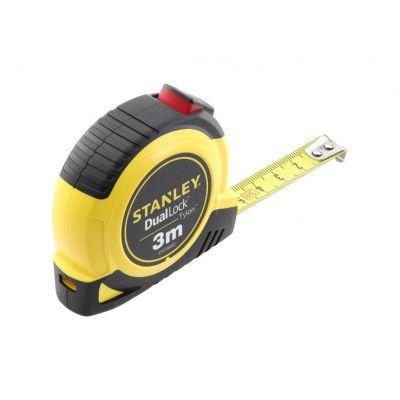 Stanley Tylon Dual Lock Rolbandmaat 3 meter